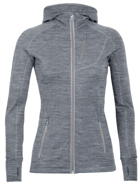 Quantum Long Sleeve Zip Hood