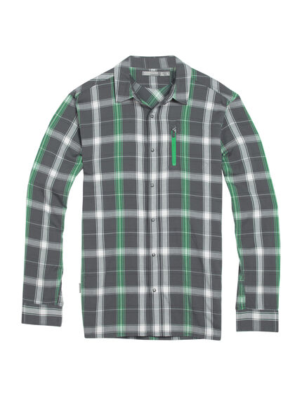 Cool-Lite Compass II Long Sleeve Shirt Plaid