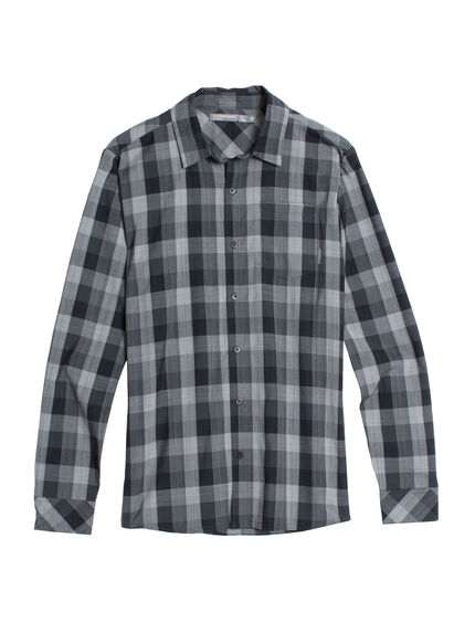 Departure II Long Sleeve Shirt Plaid