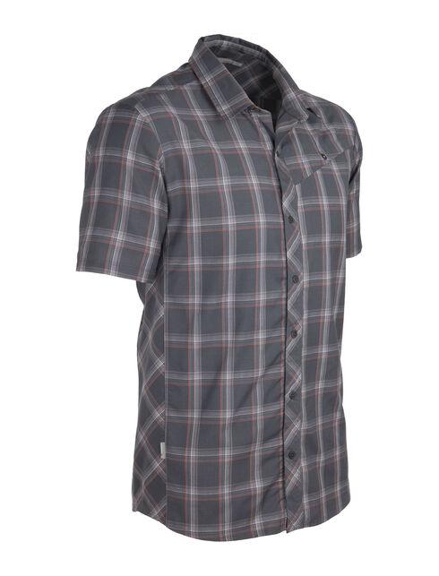 Departure Short Sleeve Shirt Plaid