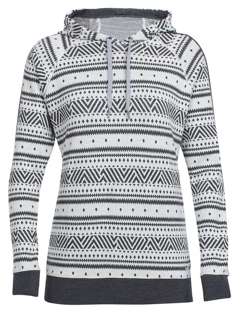 Meadow Long Sleeve Hood Icon Fairisle