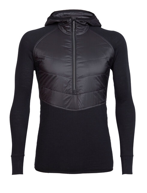 MerinoLOFT Ellipse Long Sleeve Half Zip Hood