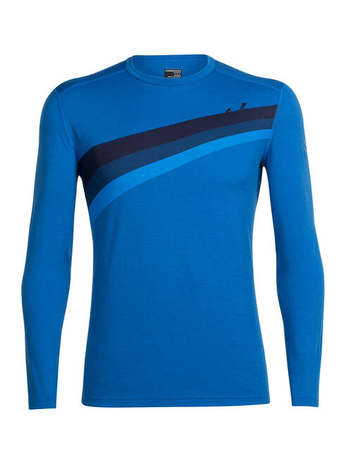 Oasis Long Sleeve Crewe Ascent Stripe