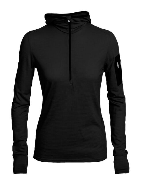 Terra Long Sleeve Half Zip Hood