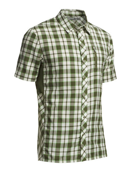 Compass Short Sleeve Shirt Plaid