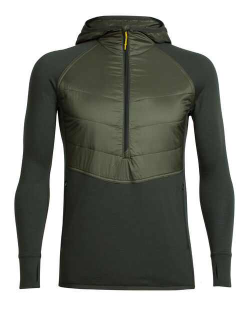 Men's MerinoLOFT Ellipse Long Sleeve Half Zip Hood