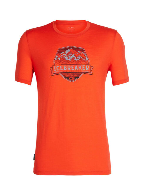 Tech Lite Short Sleeve Crewe Cook Crest