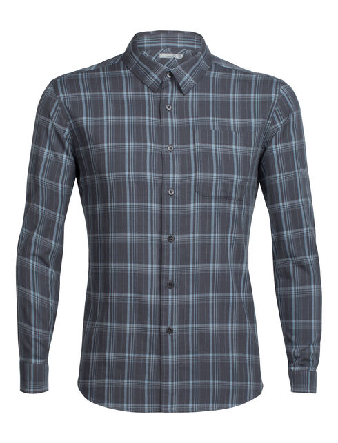 Men's Cool-Lite™ Compass Flannel Long Sleeve Shirt