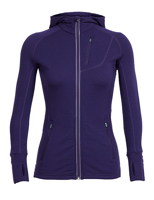 Women's Quantum Long Sleeve Zip Hood