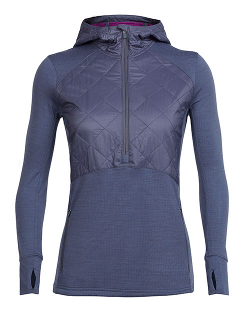 Women's Ellipse Long Sleeve Half Zip Hood
